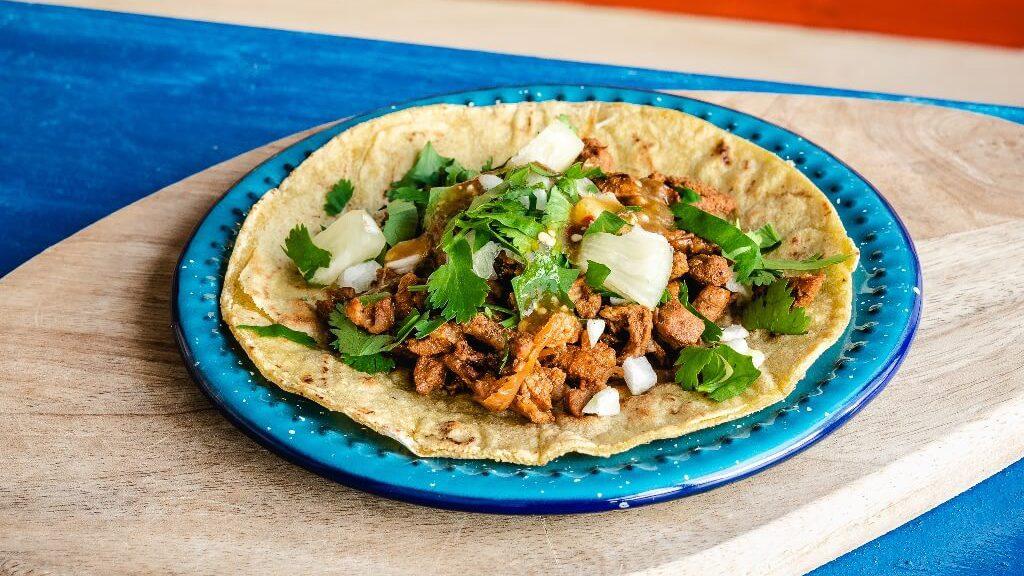 Taco dish